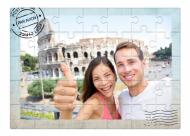 Puzzle, Carte poștală din călătorii, 20 elemente