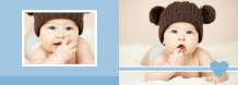 Album bebeluș fotocarte, 30x20 cm