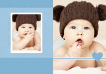 Fotocarte Album bebeluș, 20x30 cm