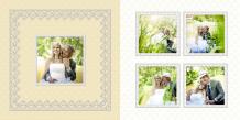 Fotocarte Nunta viselor, 30x30 cm
