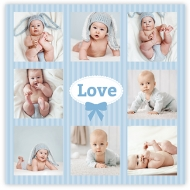 Poster, Băiețel drăguț, 70x70 cm