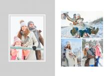 Christmas time fotocarte, 20x30 cm