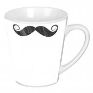 Cană latte, Mustață