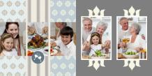 Fotocarte Întâlnire de familie, 20x20 cm