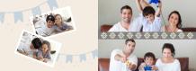 Întâlnire de familie fotocarte, 20x15 cm