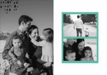Fotocarte Family, 20x20 cm