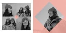 Fotocarte Friends, 20x20 cm