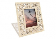 Ramă de lemn pentru fotografie Flori, 18x22 cm