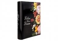Album foto Negru flori - 200 de fotografii, 20x25 cm