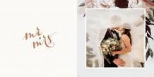 Fotocarte Wedding time, 20x20 cm