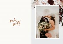 Wedding time fotocarte, 20x30 cm