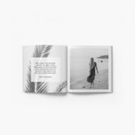 Fotocaiet Portfoliu alb-negru, 20x20 cm