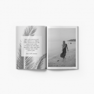 Fotocaiet Portfoliu alb-negru, 15x20 cm