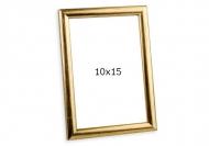Ramă foto Auriu șters, 10x15 cm