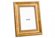 Ramă foto Auriu decorativ, 10x15 cm