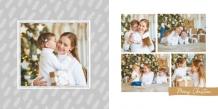 Christmas time fotocarte, 20x20 cm