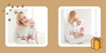 Fotocarte Albumul de ciocolată a bebelușului, 20x20 cm