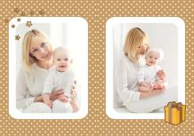 Fotocarte Albumul de ciocolată a bebelușului, 20x30 cm