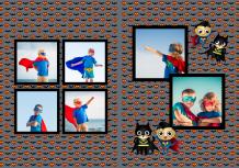 Fotocarte Micul Supererou, 20x30 cm