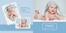 Fotocarte Album bebeluș, 30x30 cm