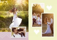 Fotocarte Eleganța nunții, 20x30 cm