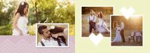 Eleganța nunții fotocarte, 30x20 cm
