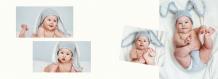 Proiectul Tău Bebeluș fotocarte, 20x15 cm