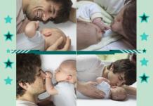 Fotocarte Pentru Tată, 20x30 cm