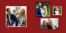 Fotocarte Îndrăgostiți, 30x30 cm