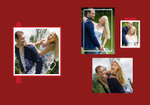 Fotocarte Îndrăgostiți, 20x30 cm