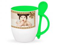 Cană cu linguriță, Cana bebelușului